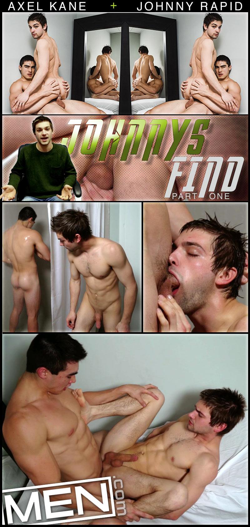 Johnny's Find (Axel Kane Fucks Johnny Rapid) at MEN