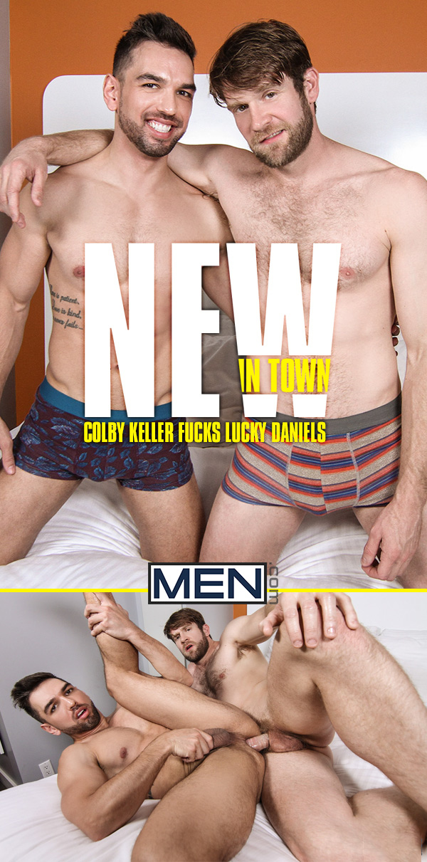 New In Town (Colby Keller Fucks Lucky Daniels) at Drill My Hole