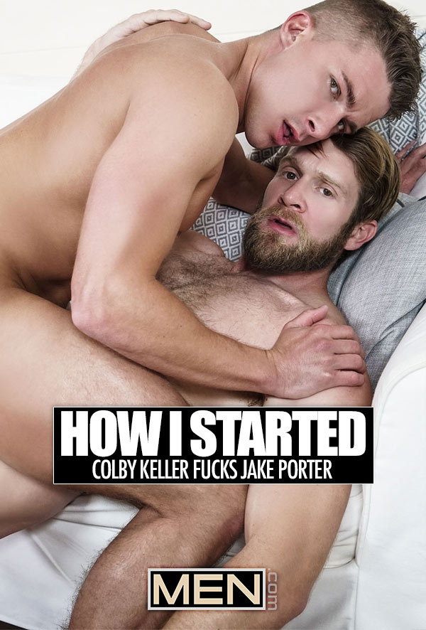 How I Started (Colby Keller Fucks Jake Porter) at Drill My Hole