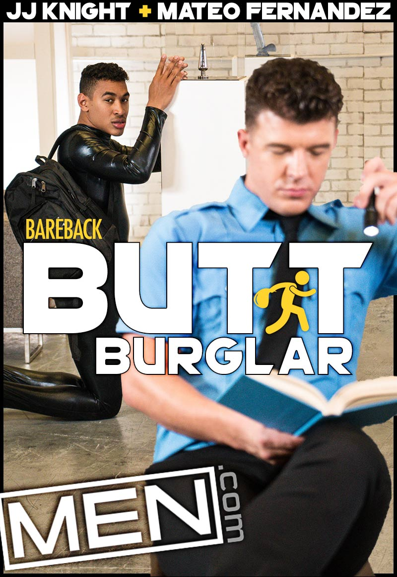 The Butt Burglar (JJ Knight Fucks Mateo Fernandez) at Drill My Hole