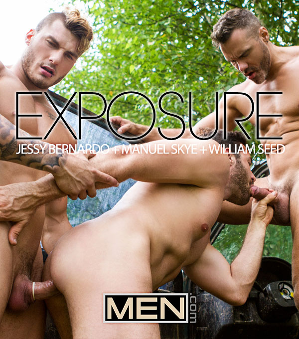 Exposure (William Seed and Manuel Sky Tag-team Jessy Bernardo) (Part 2) at Drill My Hole