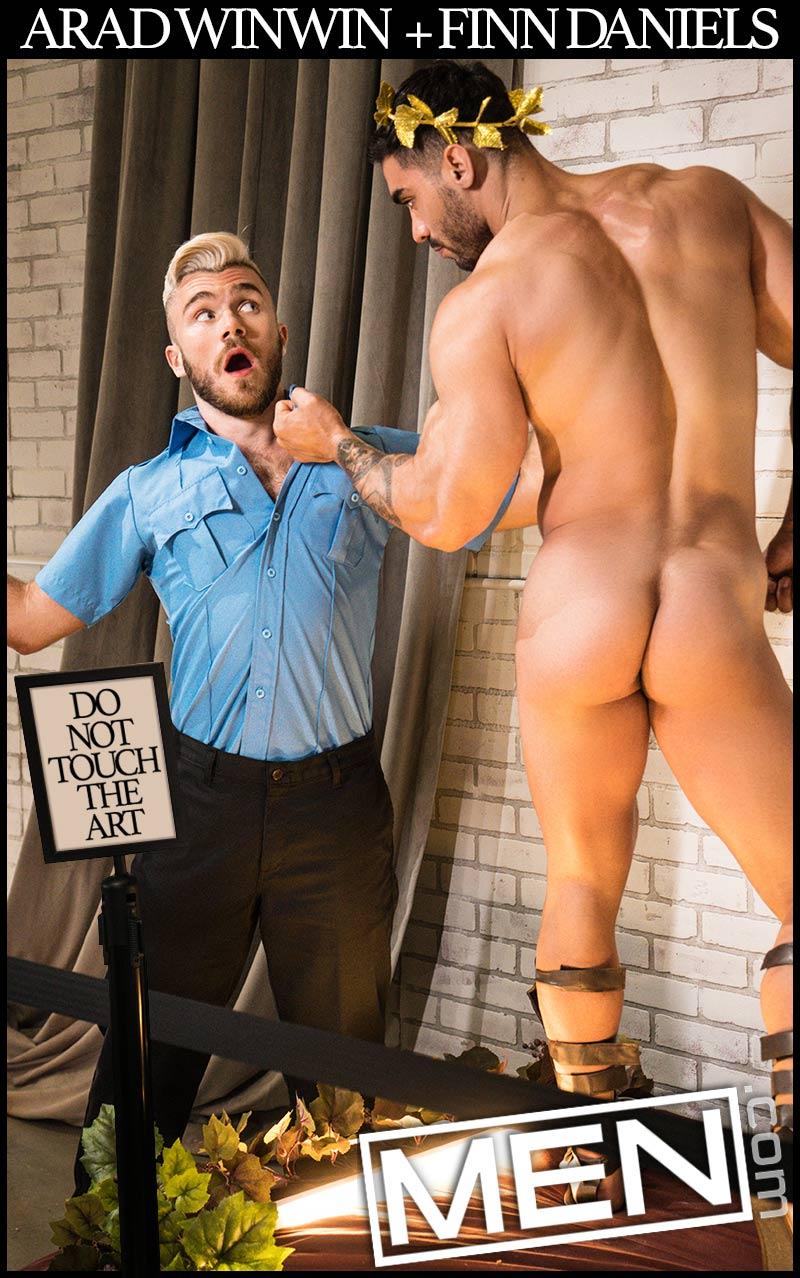 Don't Touch The Art (Arad Winwin Fucks Finn Daniels) (Part 2) at Drill My Hole
