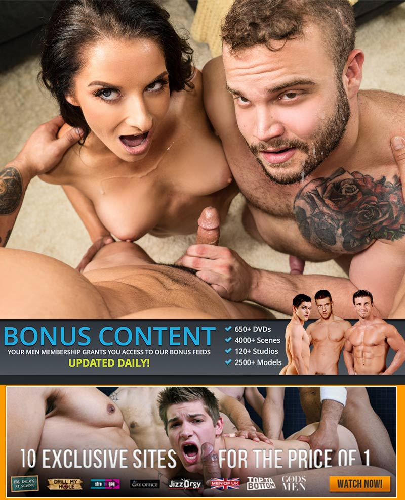 MEN Does Bisexual Porn with The Challenge (Arad Winwin, Daxx Carter and Silvia Saige) at Drill My Hole
