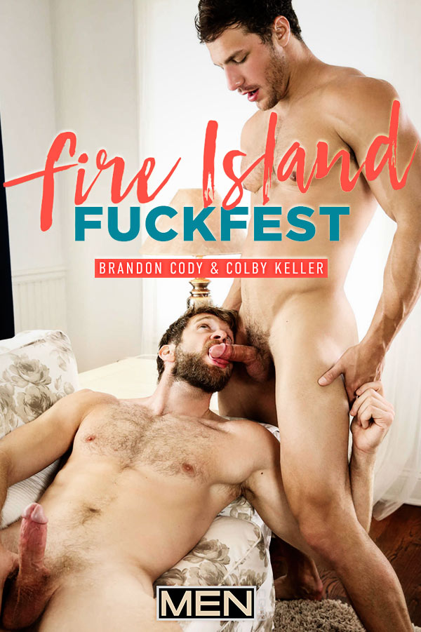 Fire Island Fuckfest (Brandon Cody Fucks Colby Keller) (Part 3) at Drill My Hole