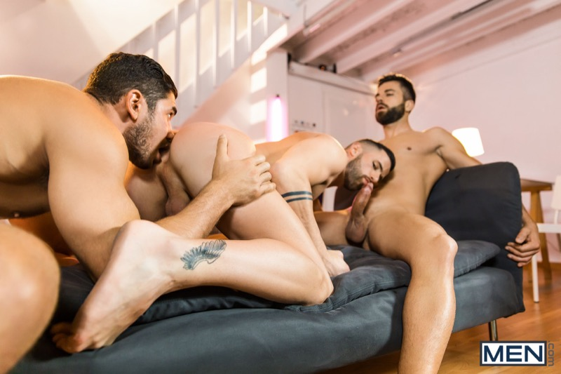 The Couple That Fucks Together (Dato Foland, Hector De Silva and Sunny Colucci) (Part 2) at Drill My Hole
