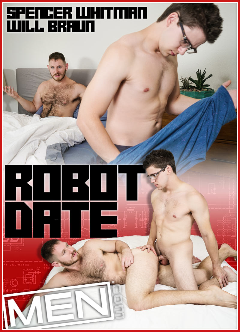 Robot Date (Will Braun Fucks Spencer Whitman) at Drill My Hole