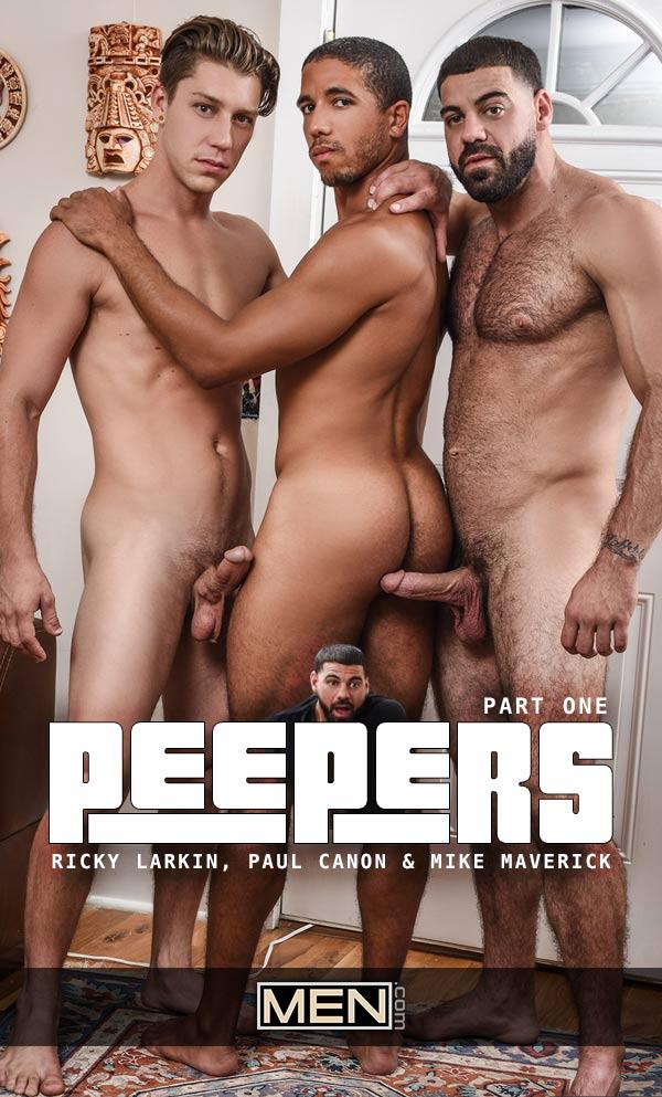 Peepers (Ricky Larkin, Paul Canon & Mike Maverick) (Part 1) at Drill My Hole