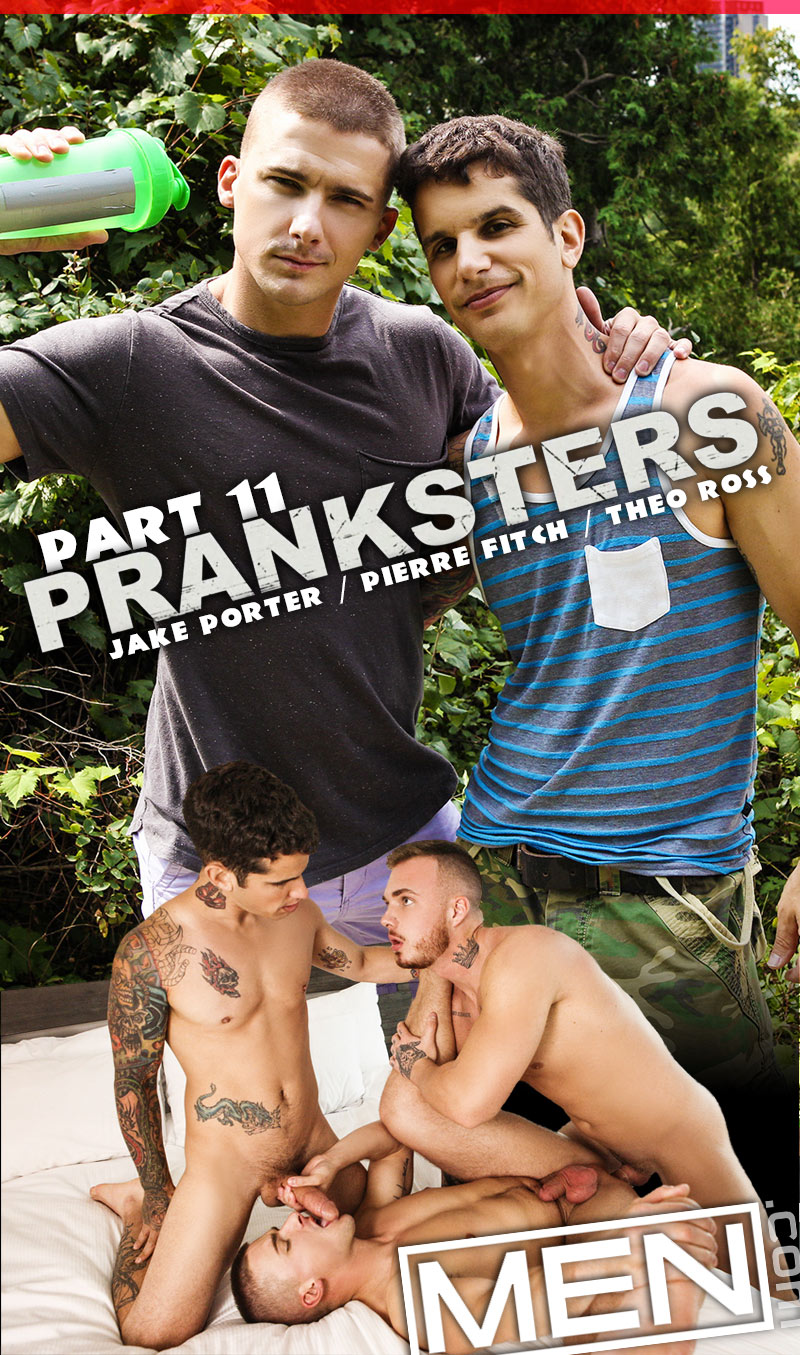 Pranksters, Part Eleven (Theo Ross and Pierre Fitch Tag-Team Jake Porter) at Drill My Hole