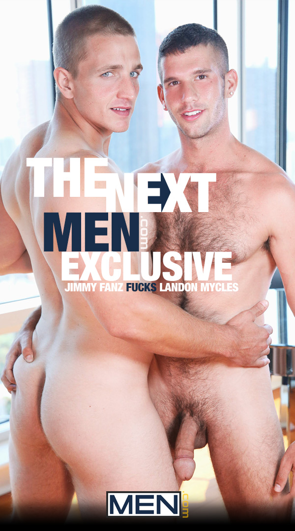 The Next Men.com Exclusive (Jimmy Fanz Fucks Landon Mycles) (Scene 1) at Drill My Hole