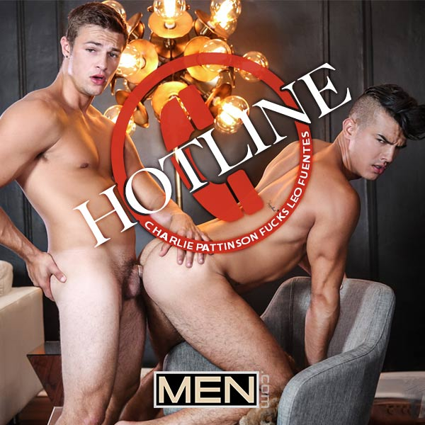 HOTLINE (Charlie Pattinson Fucks Leo Fuentes) (Part 1) at Drill My Hole