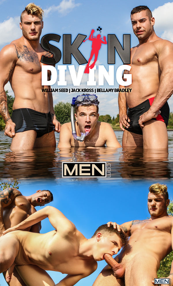 Skin Diving (William Seed and Jack Kross Fuck Bellamy Bradley) at Drill My Hole