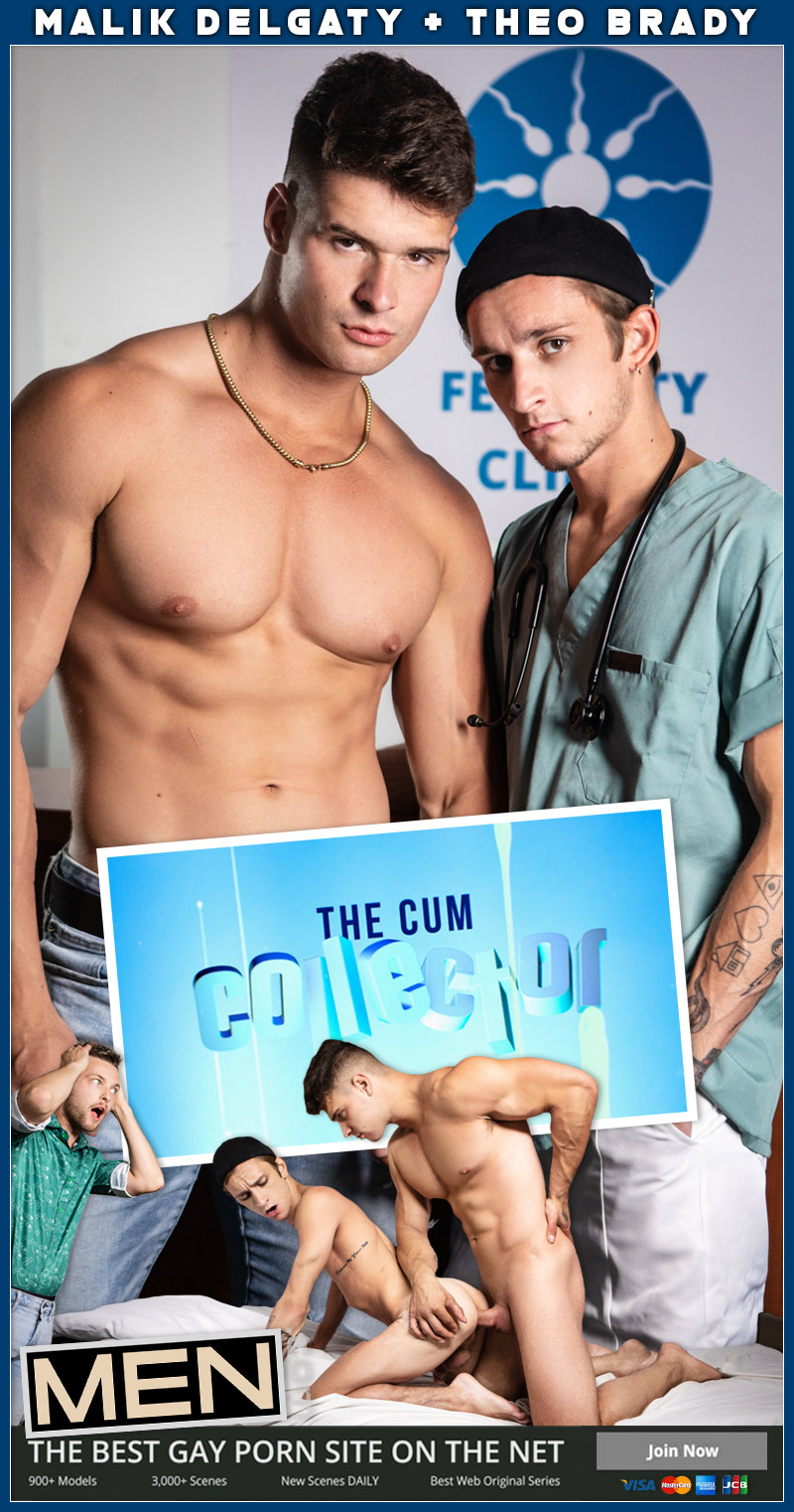 The Cum Collector - Theo Brady and Malik Delgaty Cover