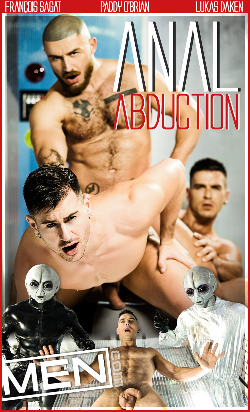 Anal Abduction (Paddy O'Brian, Lukas Daken and François Sagat) at Drill My Hole