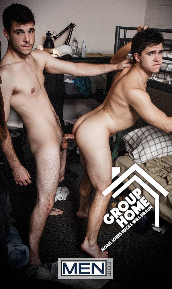 Group Home (Noah Jones Fucks Will Braun) (Part 1) at Drill My Hole