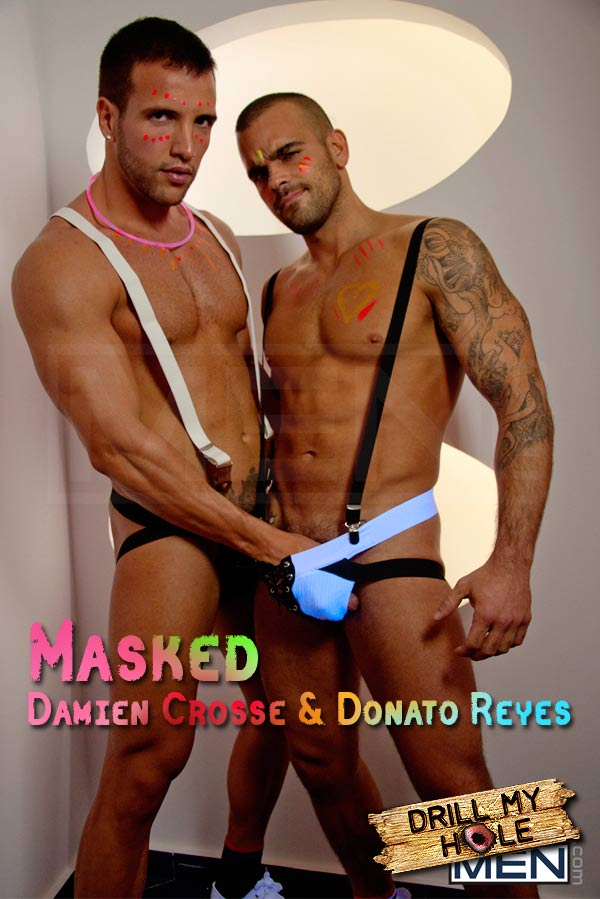 Masked (Damien Crosse & Donato Reyes) at Drill My Hole