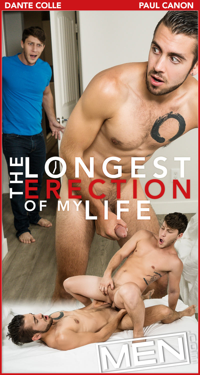 The Longest Erection of My Life, Part Two (Dante Colle Fucks Paul Canon) at Drill My Hole