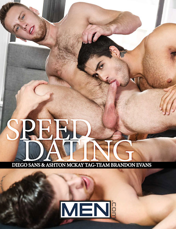 Speed Dating (Diego Sans & Ashton McKay Tag-Team Brandon Evans) at Drill My Hole
