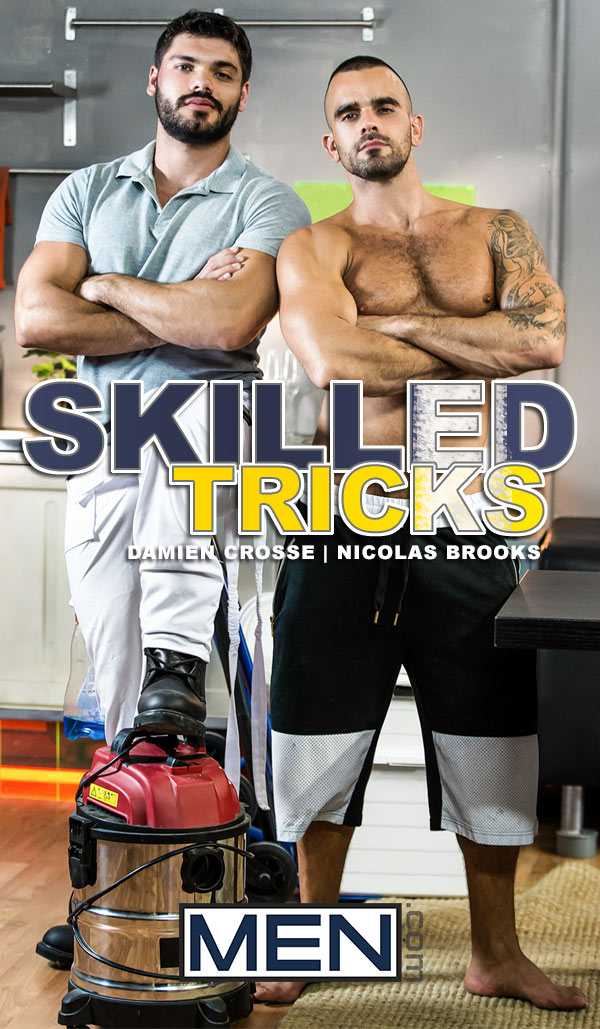 Skilled Tricks (Damien Crosse Fucks Nicolas Brooks) (Part 2) at Drill My Hole