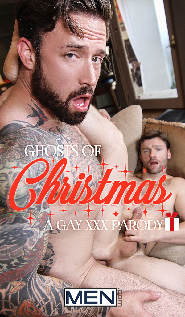 Ghosts Of Christmas: A Gay XXX Parody (Jordan Levine Fucks Dennis West) (Part 3) at Drill My Hole