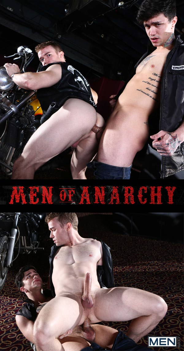 Men of Anarchy (Gabriel Cross & Jake Bass) (Part 3) at Drill My Hole