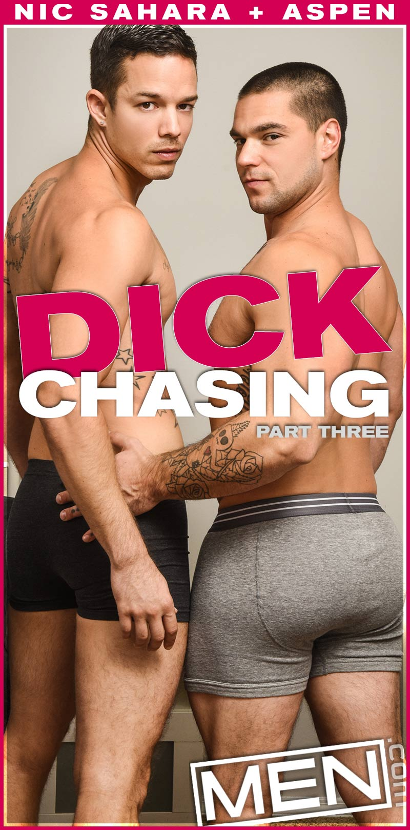 Dick Chasing, Part Three (Aspen and Nic Sahara Flip-Fuck) at Drill My Hole