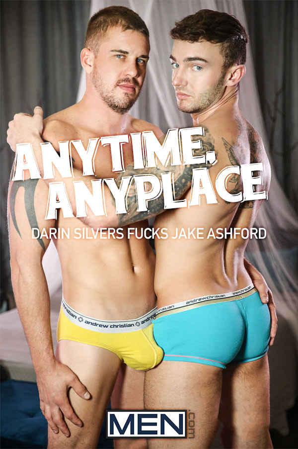 Anytime, Anyplace (Darin Silvers Fucks Jake Ashford) at Drill My Hole