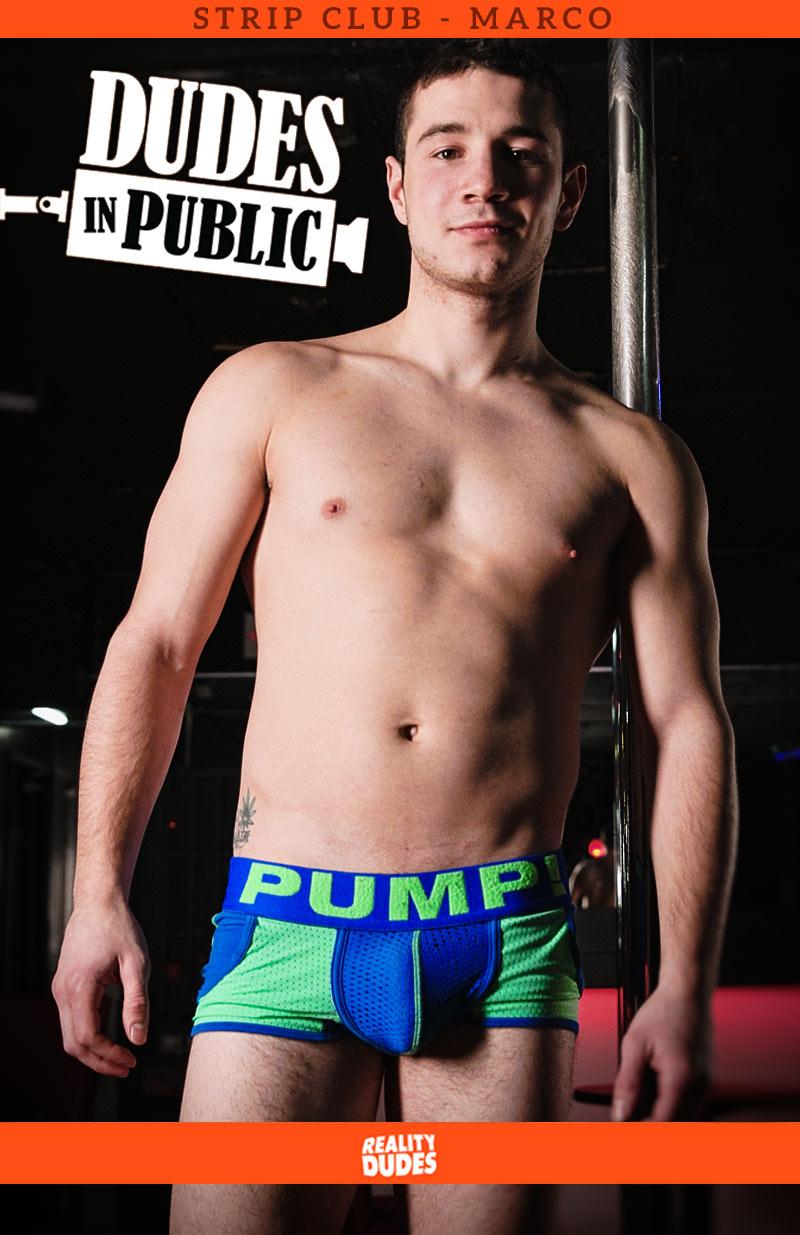Dudes In Public: Strip Club: Marco