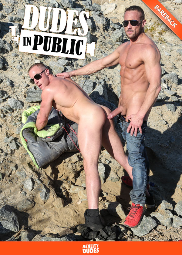 Scene 2 (Myles Landon Fucks Jacob Durham) (Bareback) at Dudes In Public