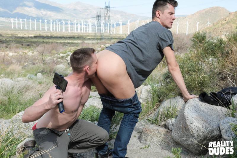 Scene 3 (Alex Chandler & Grayson Danielz) (Bareback) at Dudes In Public
