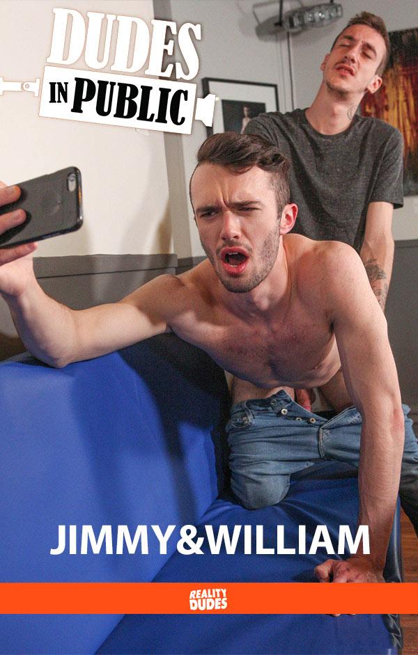 Jimmy & William (Flip-Fuck Bareback) at Dudes In Public