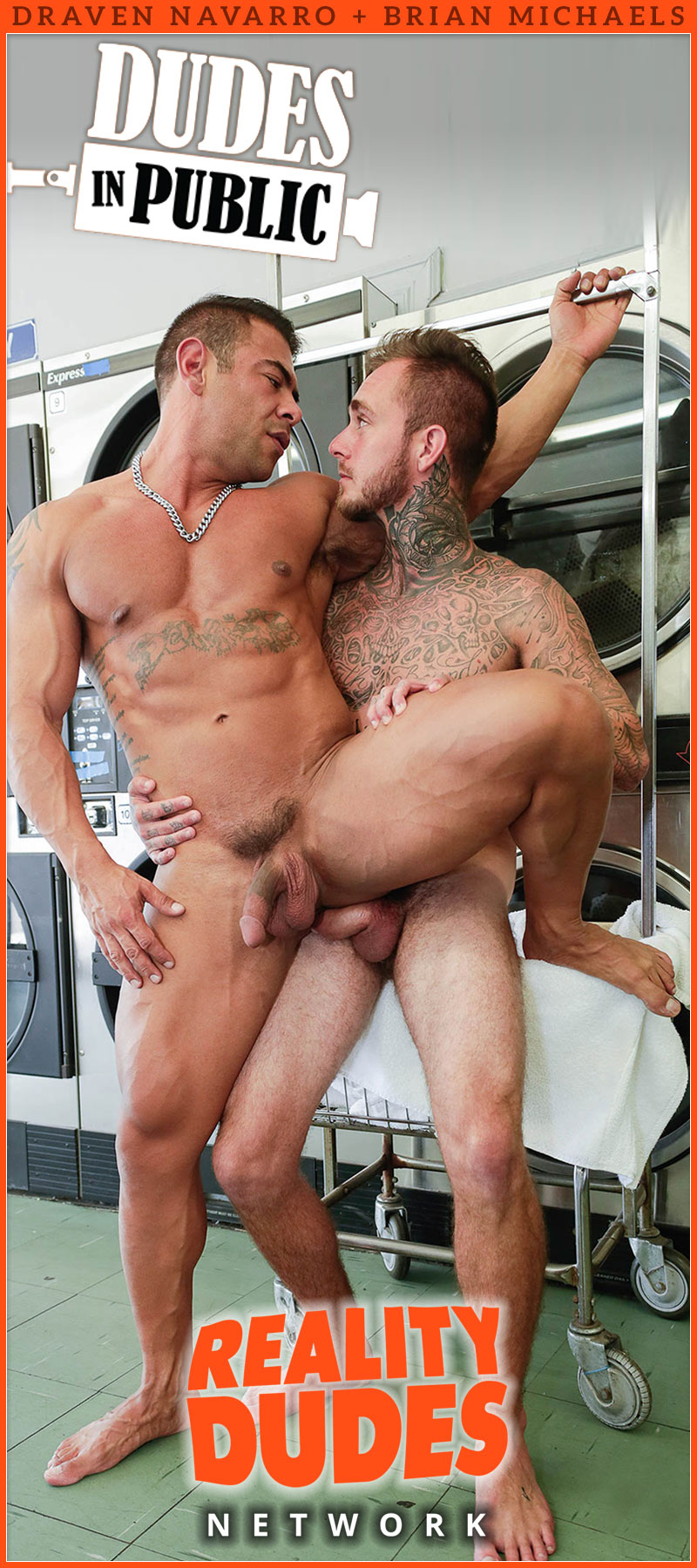Dudes In Public, Scene 32: Hey Buddy, Got Change? (Brian Michaels Fucks Draven Navarro)
