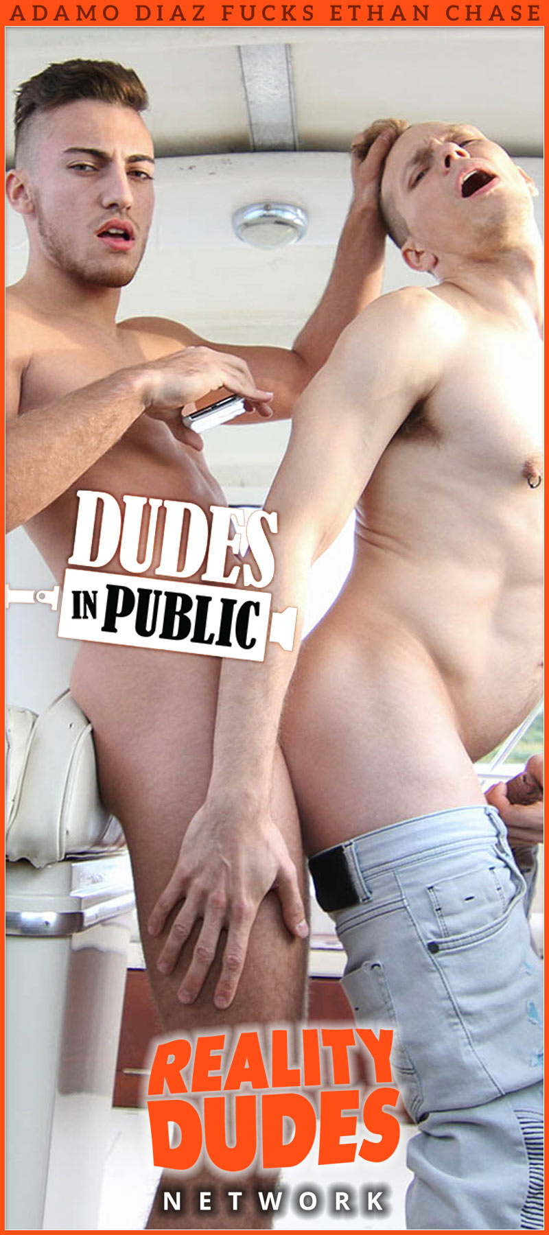 Dudes In Public 33: Pleasure Boat (with Adamo Diaz Fucks Ethan Chase)