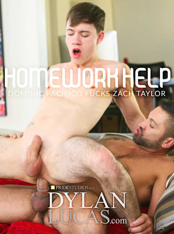 Homework Help (Dominic Pacifico Fucks Zach Taylor) at DylanLucas