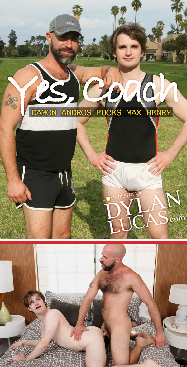 Yes, Coach (Damon Andros Fucks Max Henry) at DylanLucas