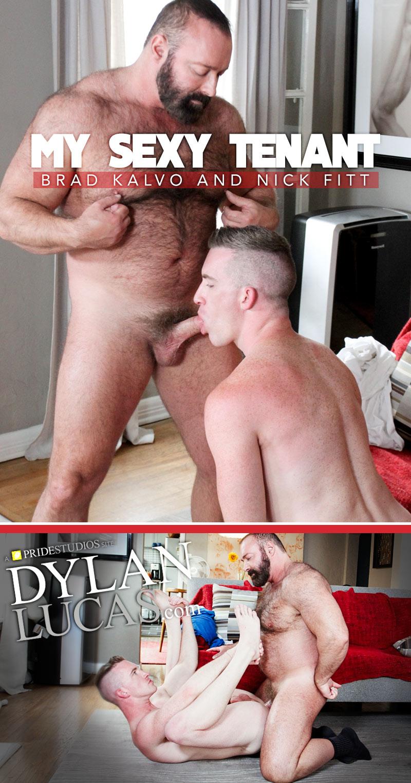 My Sexy Tenant (Brad Kalvo Fucks Nick Fitt) at DylanLucas