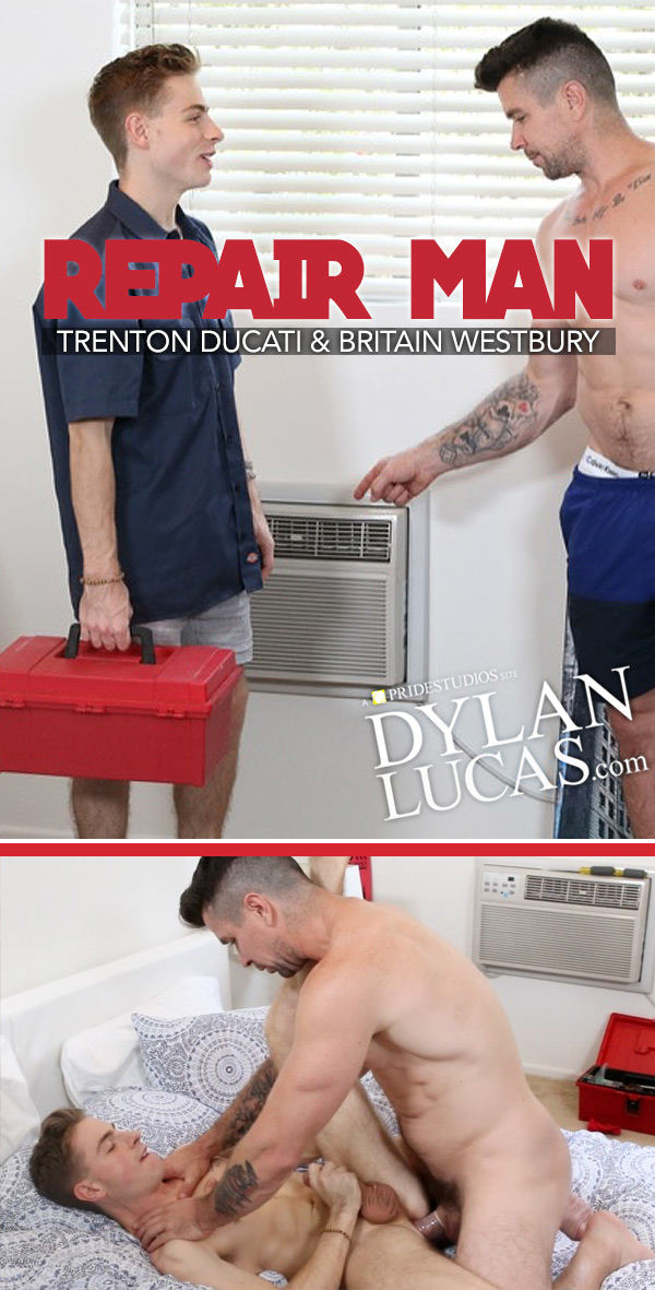 Repair Man (Trenton Ducati Fucks Britain Westbury) at DylanLucas