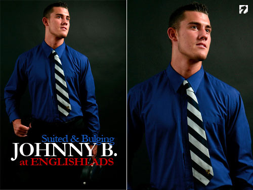 Johnny B (Suited & Bulging) at EnglishLads