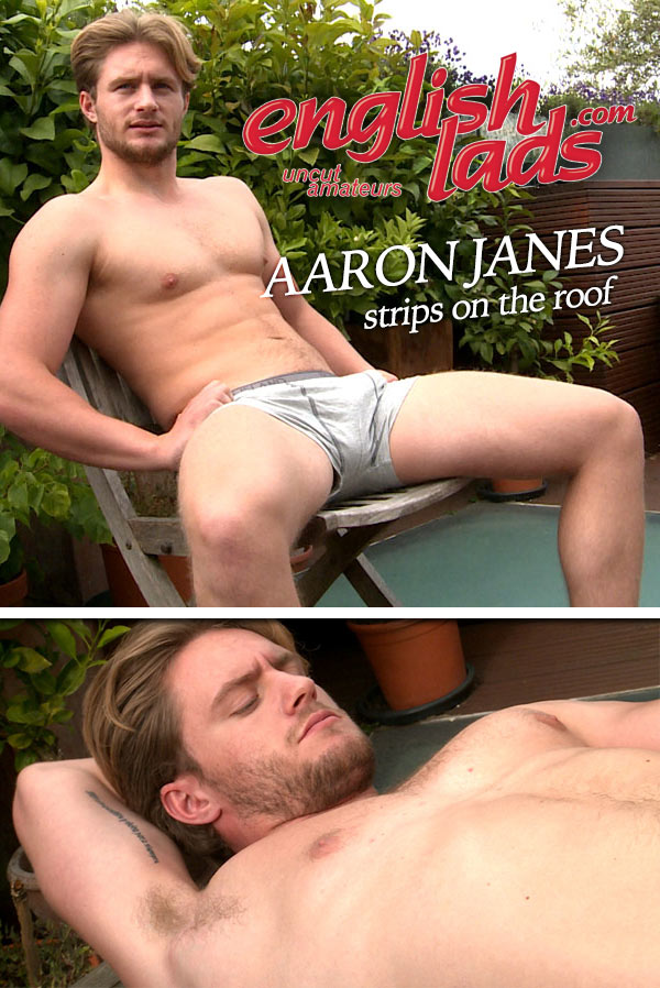 Aaron Janes (Strips on the Roof) at EnglishLads