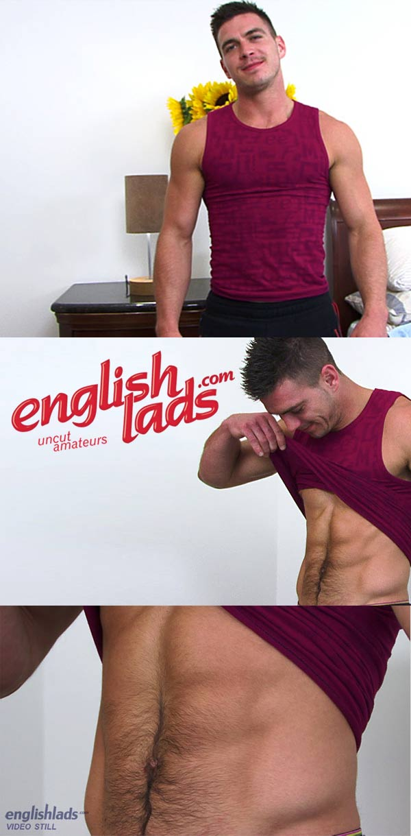 Patrick O'Brian (Massaged & Wanked Off) at EnglishLads