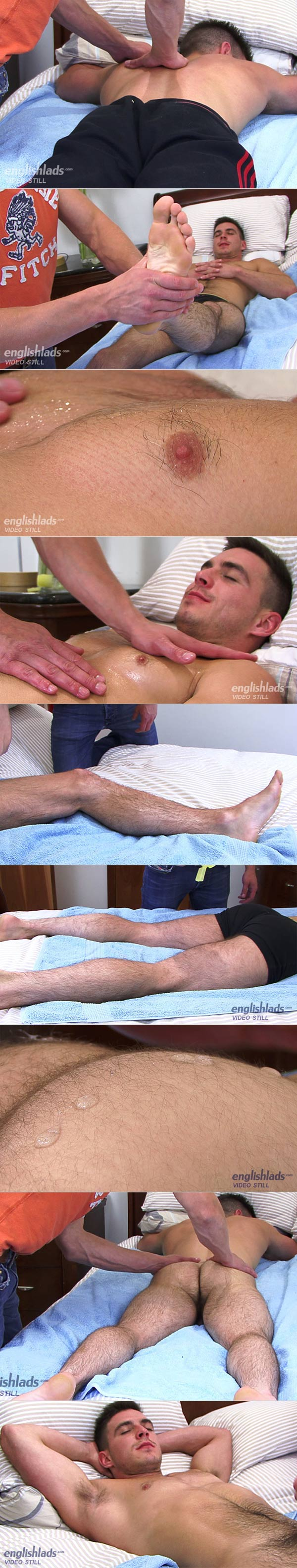 Patrick O'Brian (Massaged & Wanked Off) at EnglishLads
