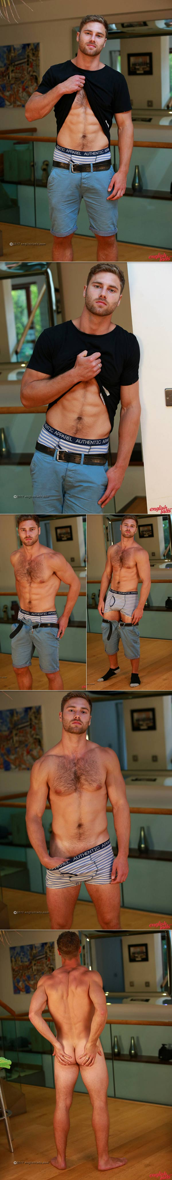 Tom Lawson (Straight Young Rugby Hunk) at EnglishLads