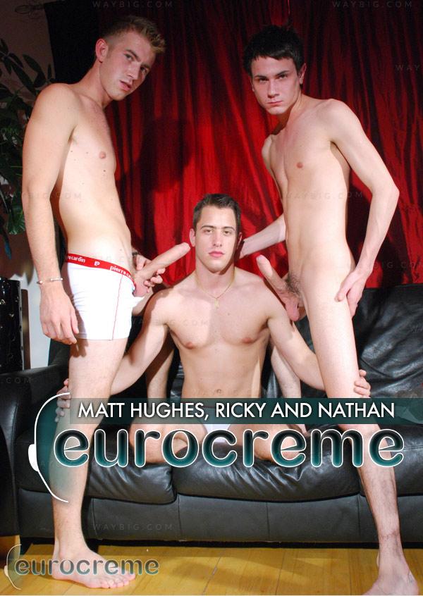 Matt Hughes, Ricky and Nathan at EuroCreme