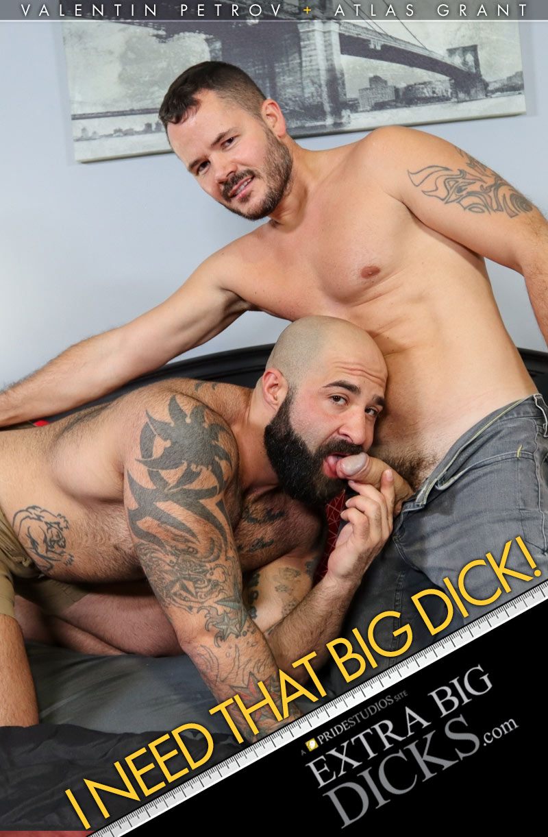 I Needed That Big Dick - Valentin Petrov and Atlas Grant Cover