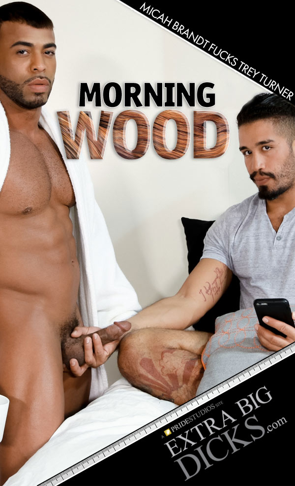 Morning Wood (Micah Brandt Fucks Trey Turner) at ExtraBigDicks.com