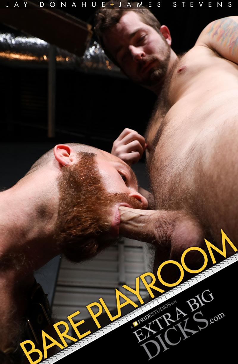 Bare Playroom (James Stevens Fucks Jay Donahue) at ExtraBigDicks.com