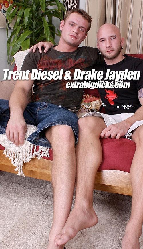 Drake Jayden & Trent Diesel at ExtraBigDicks.com