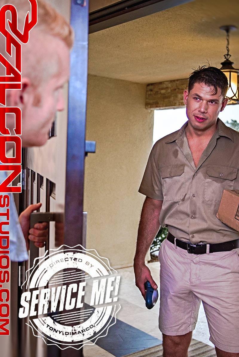 Service Me!, Scene 3 (Tyler Roberts Fucks Johnny V) at FalconStudios