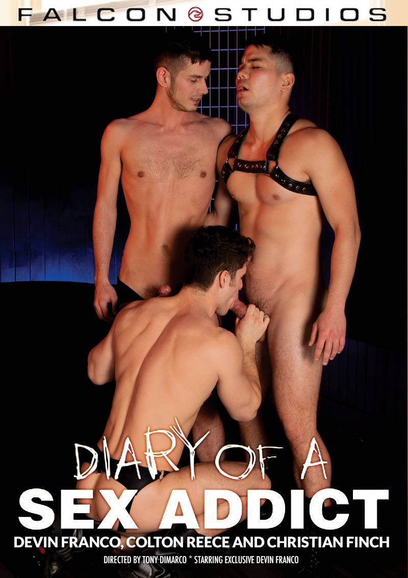 Diary of a Sex Addict, Scene Six (Devin Franco, Colton Reece and Christian Finch) at FalconStudios
