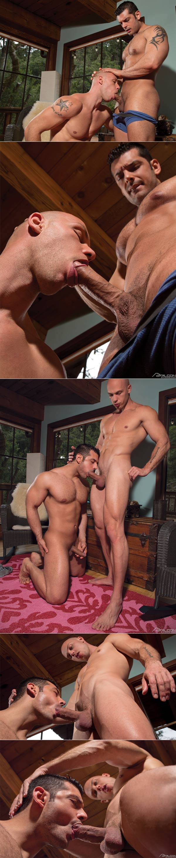 Buck Naked (Marcus Ruhl & Angelo) at FalconStudios