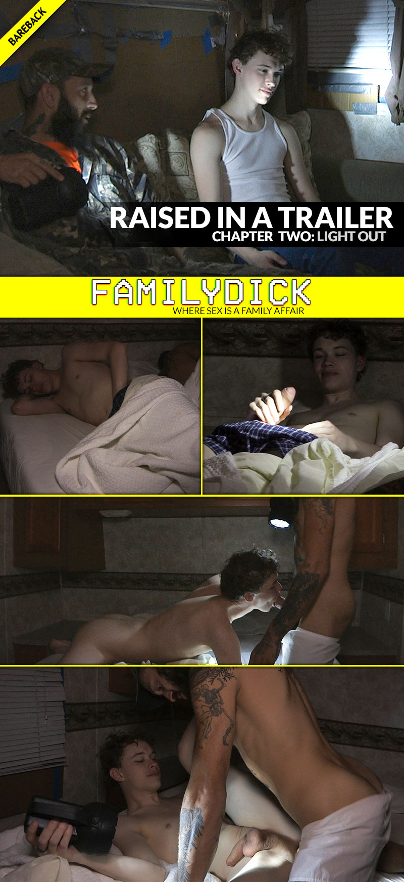 Raised In A Trailer, Chapter 3: LIGHTS OUT (with Matt Muck and Toby Muck) at FamilyDick